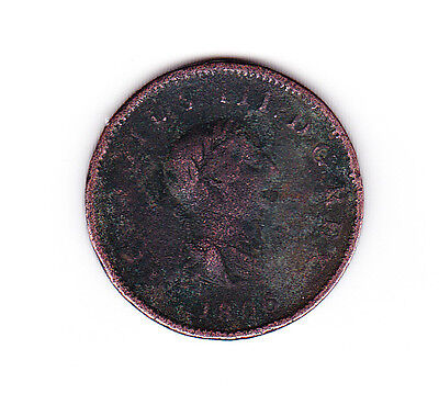 GEORGE 3rd  1806 PENNY COIN.