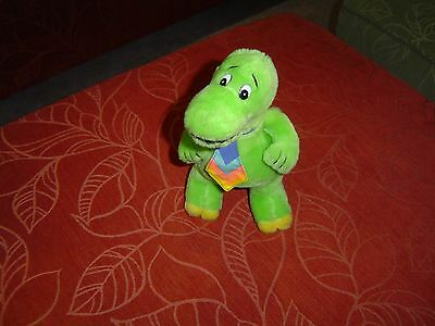 "1989 Colgate-Palmolive Dynamosaurus 11"" Plush Figure Toy in good condition"