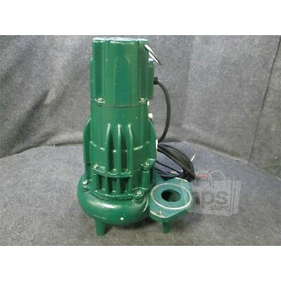 Zoeller F284-C Waste Mate Submersible Pump Cast Iron 1HP 179GPM 2in Discharge*
