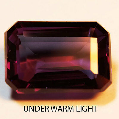 5.50ct.AWESOME RUSSIAN COLOR CHANGE ALEXANDRITE OCT  GEMSTONE5