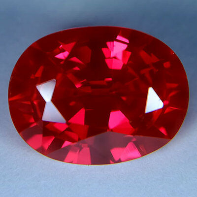 9.40ct.AWESOME BLOOD RED RUBY OVAL LOOSE GEMSTONE