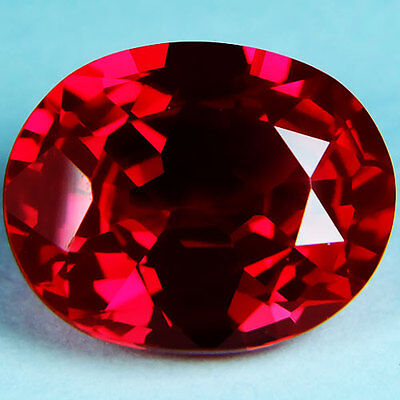 11.50ct.AWESOME BLOOD RED RUBY OVAL LOOSE GEMSTONE