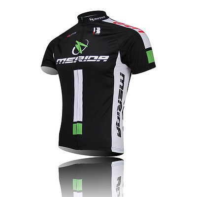 New MERIDA Maillot manches courtes Racing Bike Bicycle Jersey Tops
