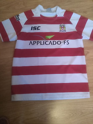 Wigan Warriors Rugby Shirt Large Good Condition