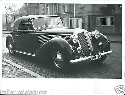 Lancia Astura Cabriolet 1939 Pininfarina Photograph Stamped on Rear Excellent