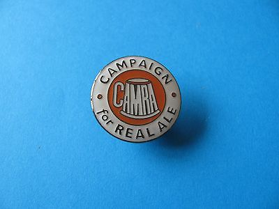 CAMRA, Campaign for REAL ALE, Pin Badge, VGC Unused. Enamel. Round.
