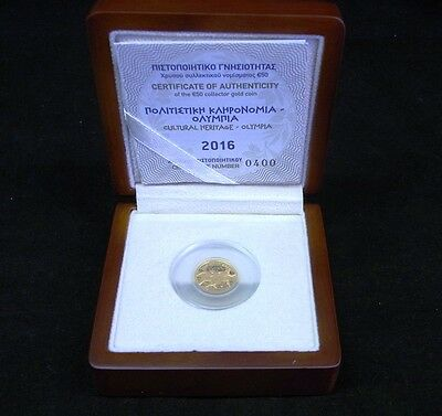 50 Euro Gold 2016 Griechenland - Olympia