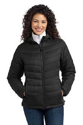 New Ladies Puffy Jacket PersonalizedFree4Ur CompanyS-XL