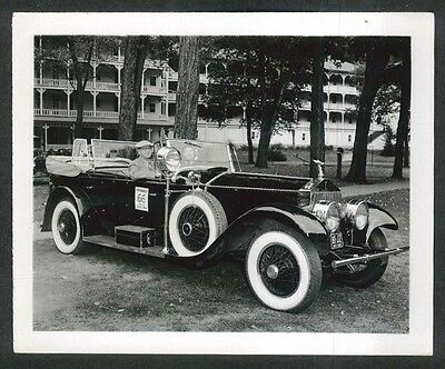 1924 Rolls-Royce at 1951 Glidden Tour 4x5 photo #42