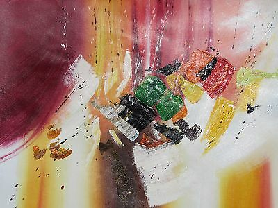 colorful abstract contemporary large oil painting canvas modern art original