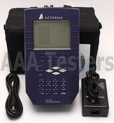 Acterna Wavetek JDSU SDA-5000 CATV Analyzer w/ PathTrak FieldView SDA5000