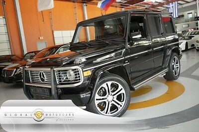 2007 Mercedes-Benz G-Class Base Sport Utility 4-Door 07 MERCEDES BENZ G55 AMG PDC MOONROOF BRABUS WHEELS