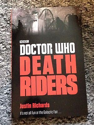 Brand new exclusive DOCTOR WHO death riders book nerd block SCI FI richards BBC