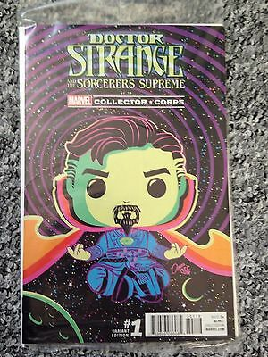 marvel comics DOCTOR STRANGE and the sorcerers supreme #1 collector corps pop