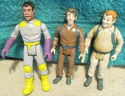 Vtg Ghostbusters Character Figures~1987 Columbia Pictures~3 Figures~Collectible