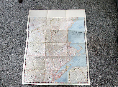 Vtg 1965 National Geographic Magazine Large Color Map of the World 561 CONSTRUCT