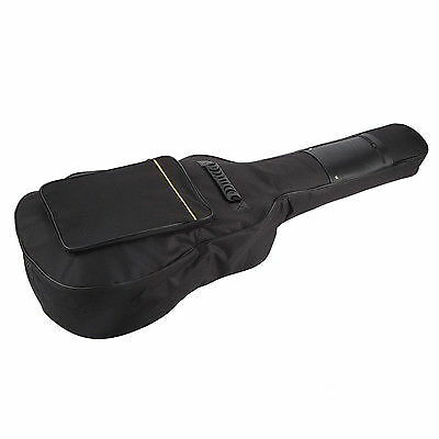 Guitar Carry Case Full Size Protect Acoustic Padded Classical Back Gift Music