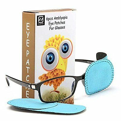 Amblyopia Eye Patches For Glasses - For Children Doing Eye Patch Therapy (6Pc)