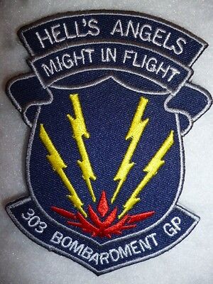 "USAF Patch - 303 Bombardment Group ""Hell's Angels"" ""Might in Flight"" Patch"