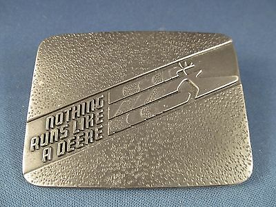 Vintage John Deere Snowmobile Belt Buckle