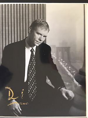 Genuine Hand Signed David Caruso Portrait Photo