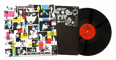 Siouxsie And The Banshees Lp Once Upon A Time/the Singles, Inner/lyrics