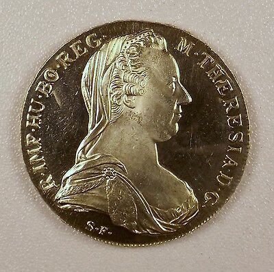 1780 -  Thaler Silver Coin from Austria