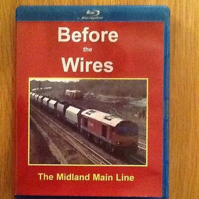 Before The Wires. The Midland Mainline  Blu-Ray DVD.
