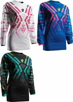 Thor Womens Pulse Facet MX Jersey