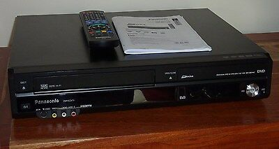 Panasonic DMR-EZ47V DVD/VCR Combi Freeview Recorder - Perfect Working Order