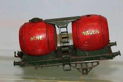 Hornby Series O Gauge Double Wine Wagon For Restoration / Spares