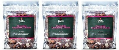 3 pk Archer Farms Cashew Cranberry Almond Trail Mix 12 oz