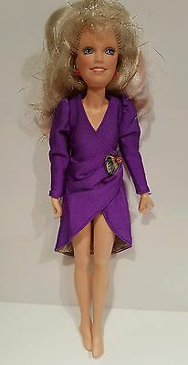 Vintage Glitter and Gold Jem & Twilight in Paris outfit RARE!! Hollograms Hasbro