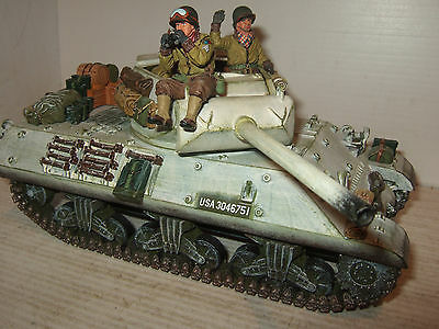 Rare King & Country BBA11 Battle of The Bulge M10 Tank Destroyer & Crew in 1:30