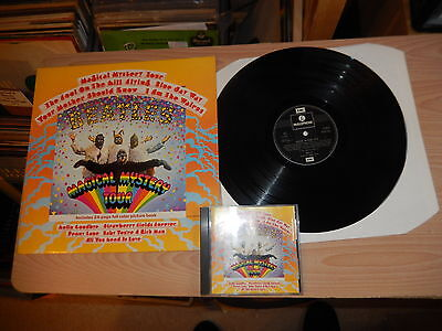 The Beatles - Magical Mystery Tour (PCTC 255) LP With Booklet + CD