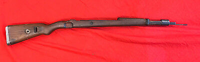 Ww2 German Wehrmacht K-98 Complete Stock Set For 7.92 Rifle,waffenampt Inc Rod.