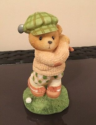 Cherished Teddies - 'ARNOLD' Figurine ('You 'Putt' Me In A Great Mood')