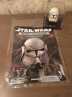 DeAgostini Star Wars Helmet Collection: Commander Bacara Issue #15 Fast P&P