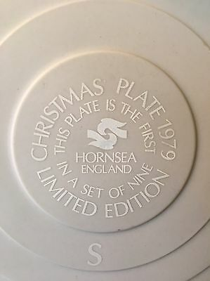 Hornsea Christmas Plate Limited Edition 1979 Nativity First of Nine Original Box