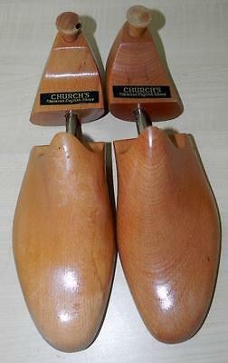 Pair of Vintage Church Wooden Shoe Trees Size 11