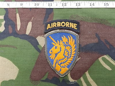 WW2, Original, U.S. 13th Airborne Div, Sleeve Patch