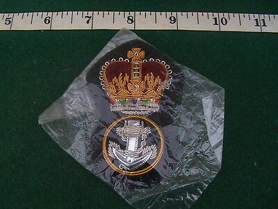 Unissued, Packed Royal Navy Petty Officer Cap Badge