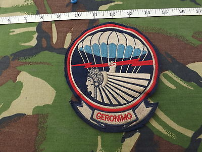 WW2 U.S. Airborne 501st Parachute Infantry Pocket Patch