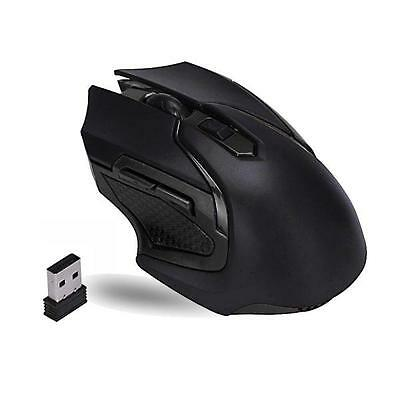 HOT 2.4GHz Wireless Optical Gaming Mouse Mice For Computer PC Laptop
