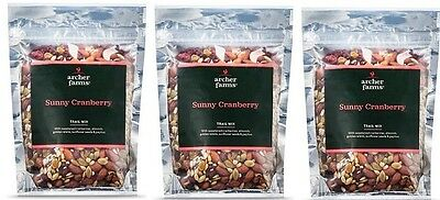 3pk Archer Farms Sunny Cranberry Trail Mix 14oz