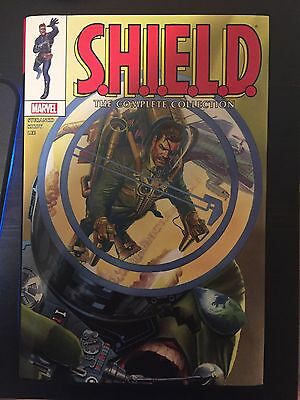 Shield The Complete Collection Omnibus - Hardcover - Hc - Marvel - Nick Fury
