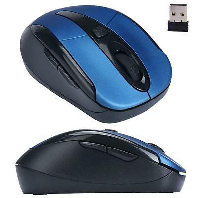 HOT  Portable 2.4G Wireless Optical Mouse Mice For Computer PC Laptop Gamer