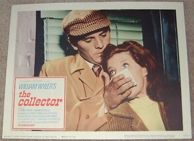 THE COLLECTOR  lobby card #2 - TERRENCE STAMP, SAMANTHA EGGAR