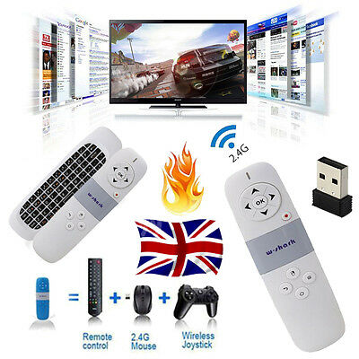 Remote 2.4G Wireless Fly Air Mouse Keyboard For KODI Android TV Box Black Friday