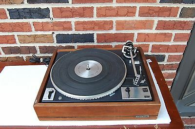 Vintage DUAL1249 Turntable for parts or repair